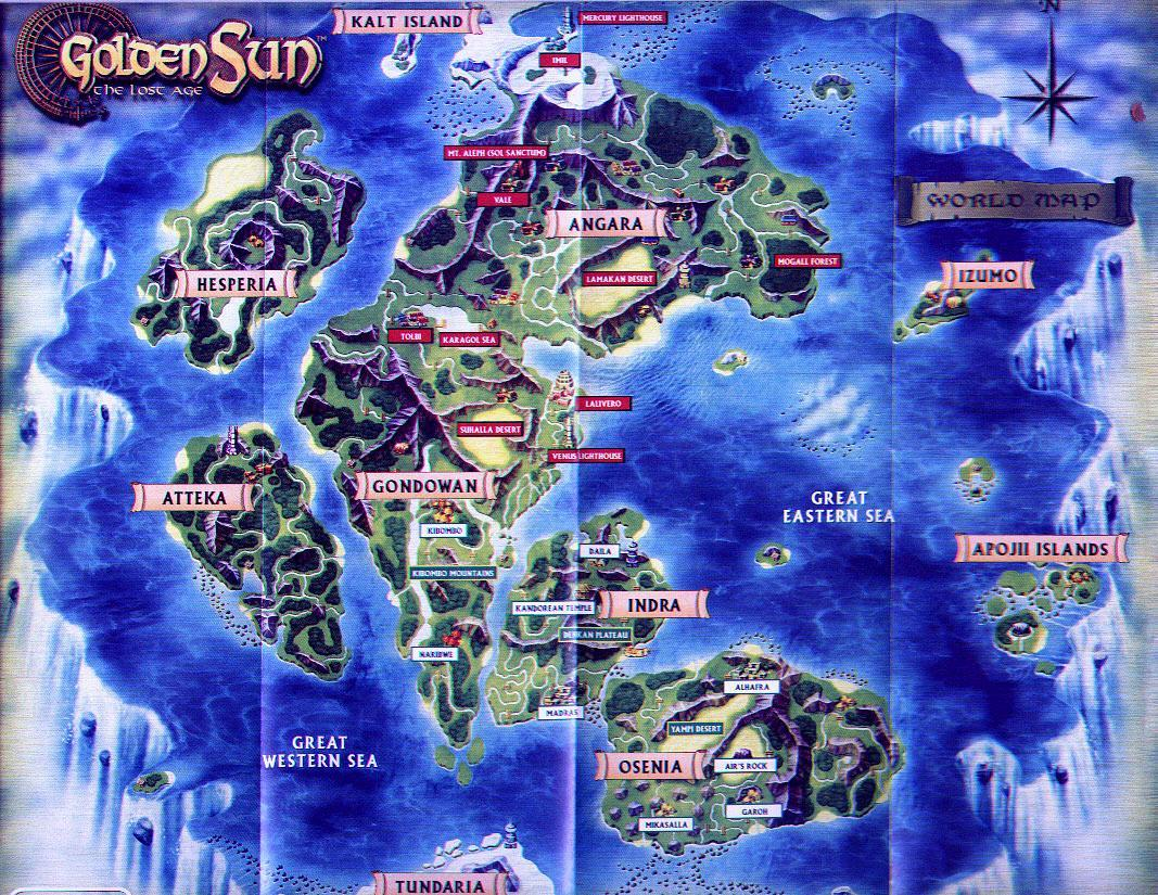 Golden Sun The Lost Age Map (459KB)